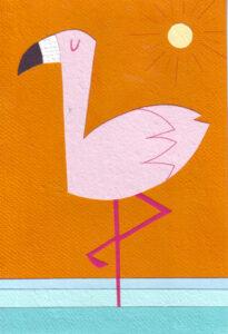 01-053 African Flamingo