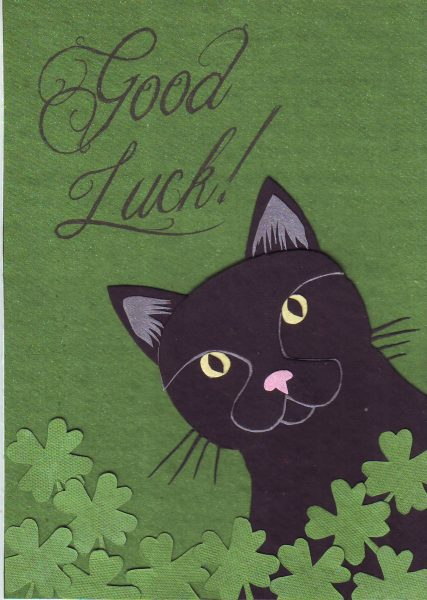 07-062 Good Luck Cat